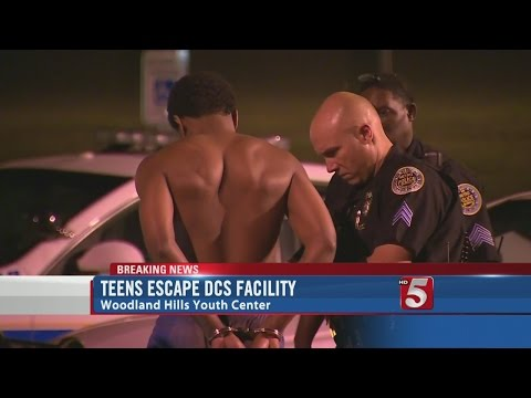 Teens Escape Juvenile Detention Facility