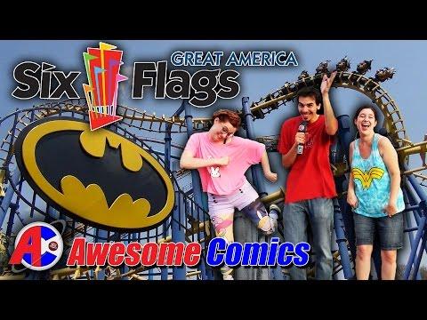 Six Flags Great America - Awesome Comics