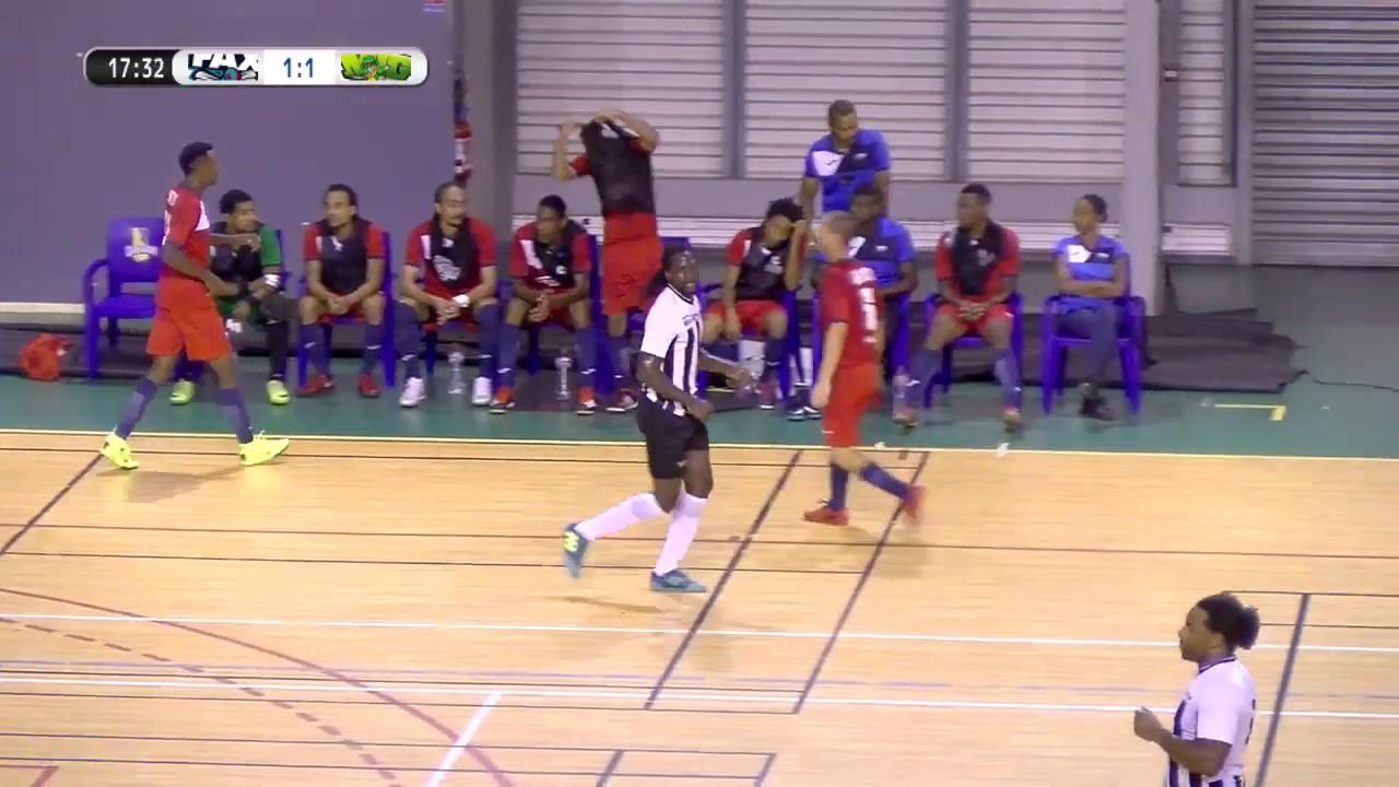 Kia Futsal Guadeloupe : 16e Journée : FAX vs DLOCHO (1ere mi-temps)