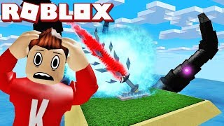 ESCAPE FROM THE SWORD! | English Roblox: Cursed Islands