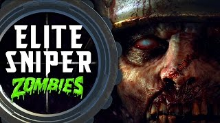 Elite Sniper Zombie Challenge 💀 Call of Duty Black Ops 3 Custom Zombies
