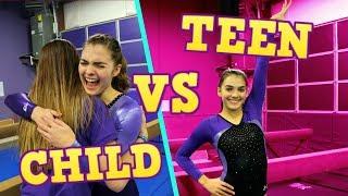 Child You VS Teen You: GYMNASTICS MEET