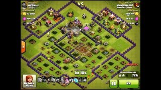 Clash of Clans | How to Farm (GoGiWi) in Champion League after Dec 2015 update (Part 2) (TH10#2)