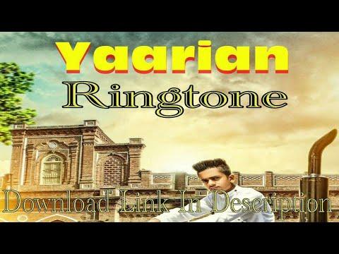 Yaariyan Ringtone | Jas P | Avi Kale Ke | Latest 2018 Punjabi Songs Ringtones
