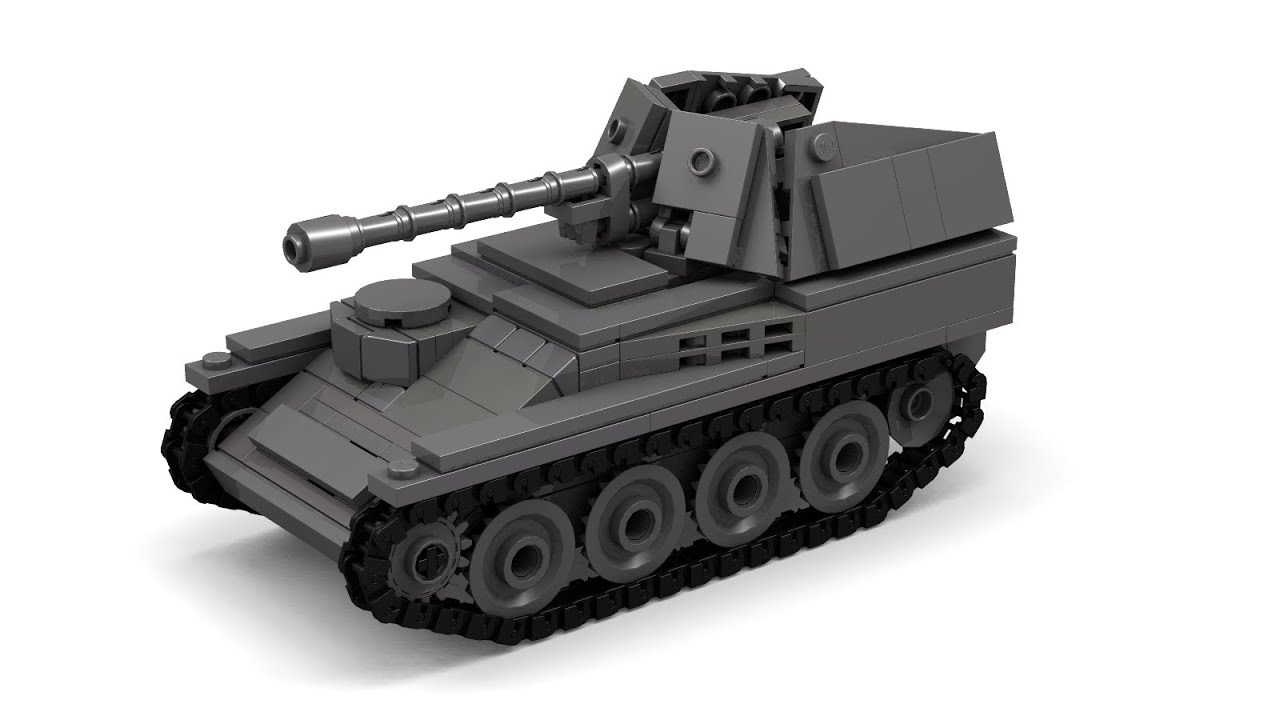 how to make a tank out of legos