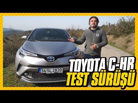 Toyota C-HR Test: 4.1 lt benzinle 100 km yol yaptık. (Review: 4.1lt/100km - English subtitled)