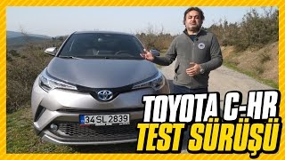 Toyota C-HR Test: 4.1 lt benzinle 100 km yol yaptık. (Review: 4.1lt/100kms - English subtitled)