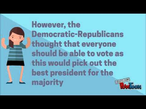 Federalist Democratic-Republican powtoon