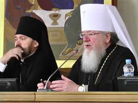 Видео: Обращение митрополита Сергия к студентам семинарии