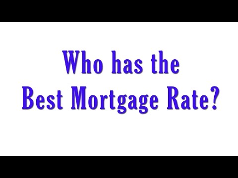 Who has the Best Mortgage Rate in San Antonio?