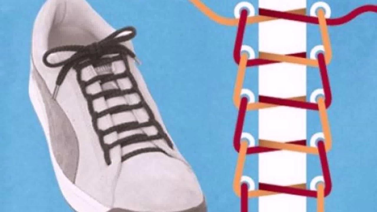 df8593b7 Как Шнуровать Ботинки Красиво - YouTube
