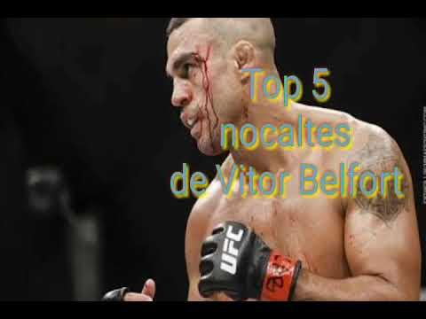 Top 5 nocaltes de Vitor Belfort