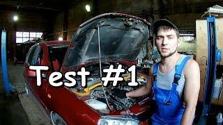 Проверка (тест) масла на двигателе часть 1, 18 кг.