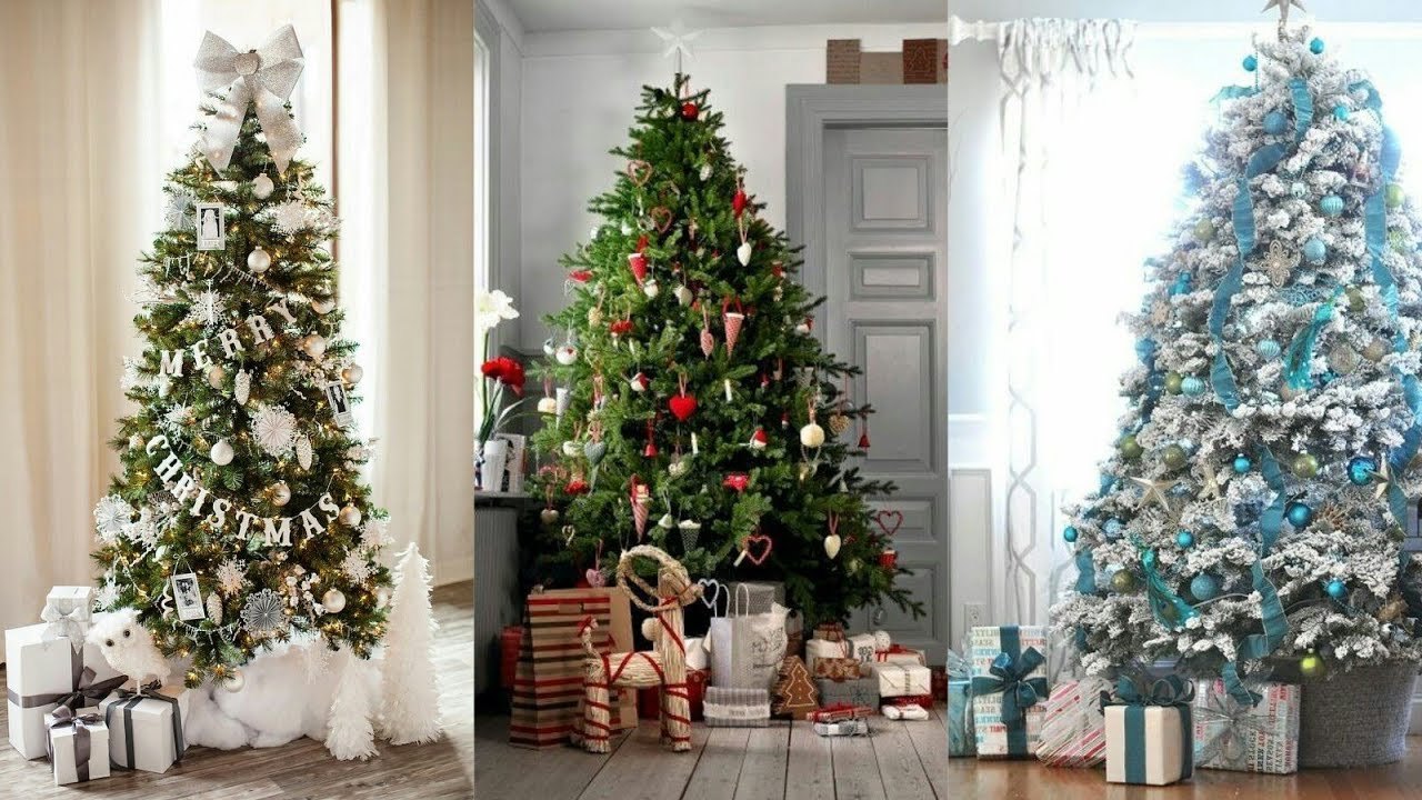 Rboles de navidad 2018 2019 ideas y tendencias para for Arboles navidenos decorados