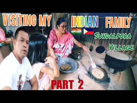 PINOY MARRIED TO INDIAN WOMAN. FILIPINO VISITING MY INDIAN FAMILY IN  SULDALPURA VILLAGE PART 2.