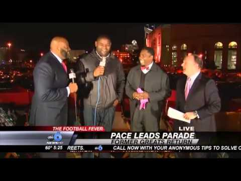 THE FOOTBALL FEVER: Orlando Pace Paying it F