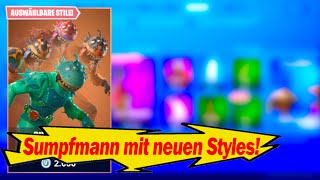 Swamp man with 3 new styles!😍| Disco Skins| Fortnite Shop from 13.9.19