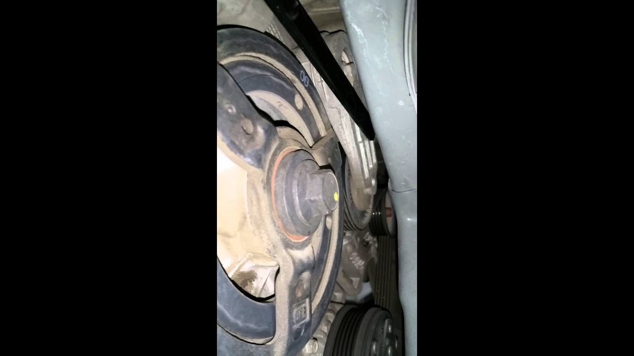 2006 Chevy Hhr Serpentine Belt Replacement