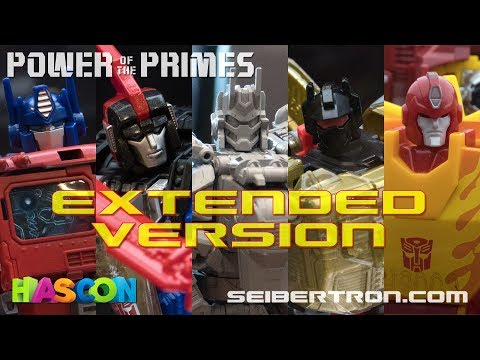 HASCON 2017: Transformers Power of the Primes Reveals EXTENDED VERSION