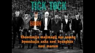 Tick Tock (Korean Version) by U-Kiss with lyrics