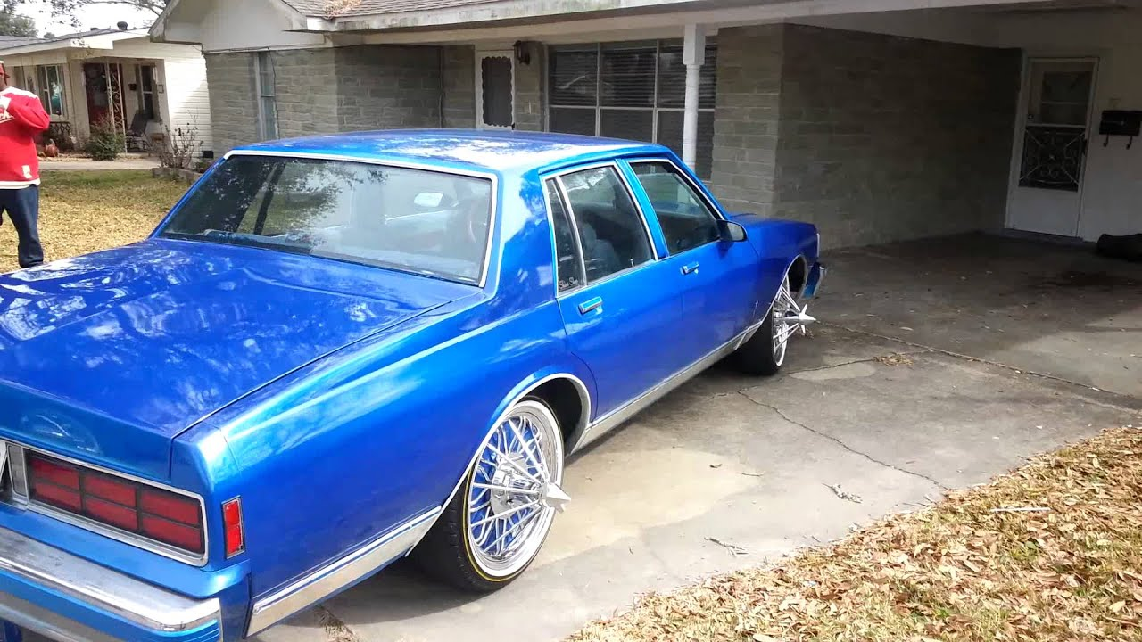 My Box Chevy And My Bro Monte Carlo On 20 Quot Swangas Youtube