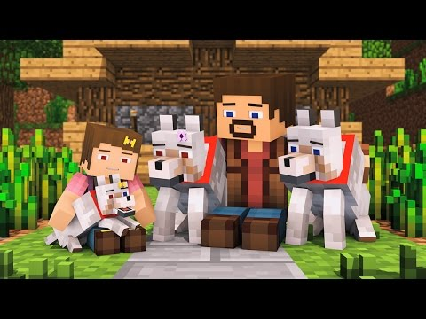 Wolf Life Full Animation - Alien Being Minecraft Animation