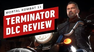 Mortal Kombat 11 - The Terminator DLC Review (Video Game Video Review)