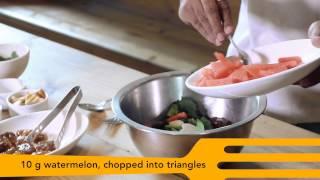 Watermelon Arugula Salad Recipe From Le Pain Quotidien