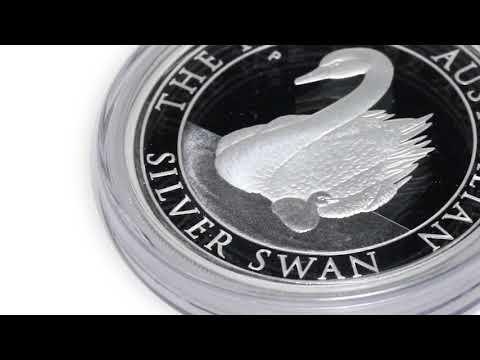 2018 Australia 1 oz Silver Swan Proof