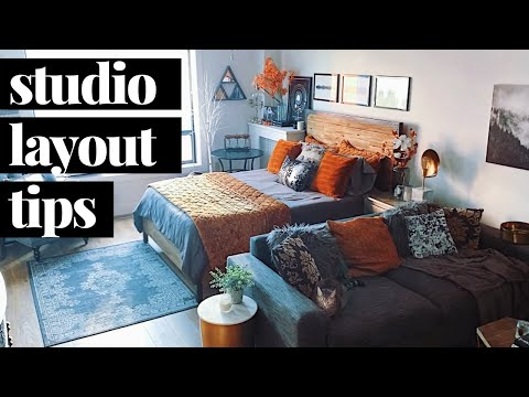Studio Apartment Layout Ideas - How to Make Your Studio Cohesive