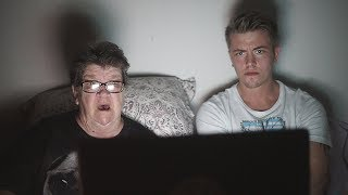 GRANDMA REACTS TO SCARIEST VIDEO'S ON YOUTUBE!
