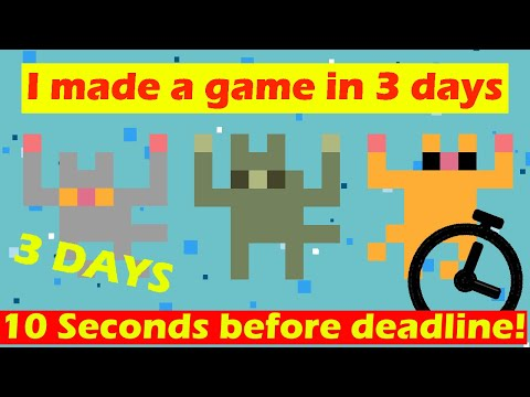 I made a game in 3 days!!!