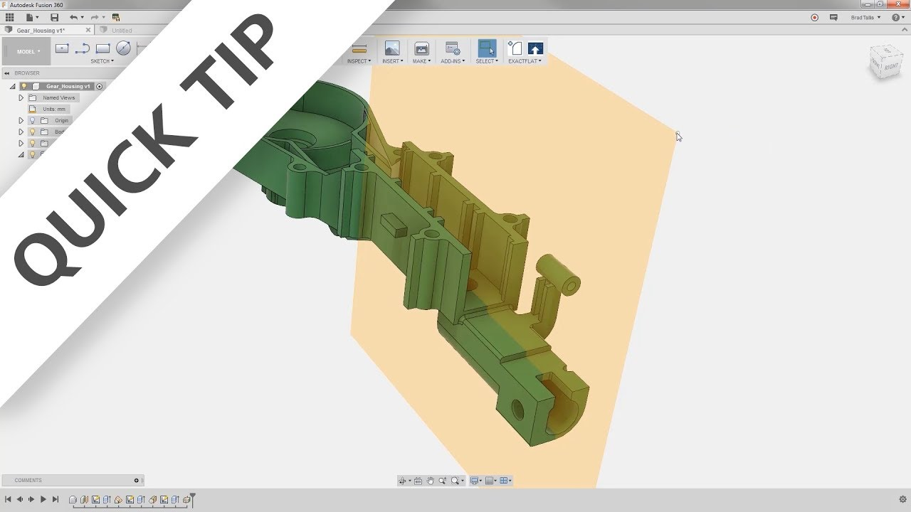 QUICK TIP: Plane Creation - Fusion 360 Blog