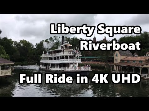 Liberty Square Riverboat | Magic Kingdom | Full Ride in 4K | Walt Disney World
