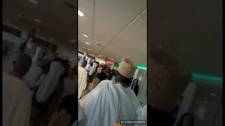 Black Royalty: Ooni of Ife and entourage touch-down at Rio De Janeoro, Brazil