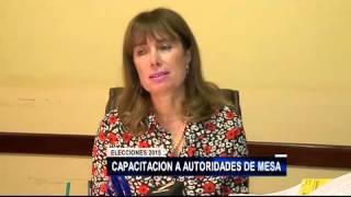 CAPACITACIÓN A AUTORIDADES DE MESA
