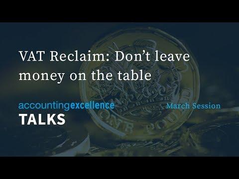 VAT Reclaim: Don't leave money on the table