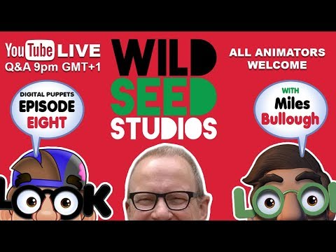 Adobe Character Animator with LOOK Digital Puppets | Ep 8 | Interview with WildSeed Miles Bullough