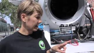 Budding Scientist Visits DEEPSEA CHALLENGER