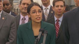 Alexandria Ocasio-Cortez, Democrats unveil Green New Deal plan: full speech