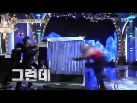 "Strongman Performs on ""Star King"" in South Korea!"