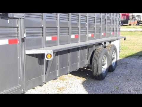 Mid-Plains Equipment Titan Stock Trailer