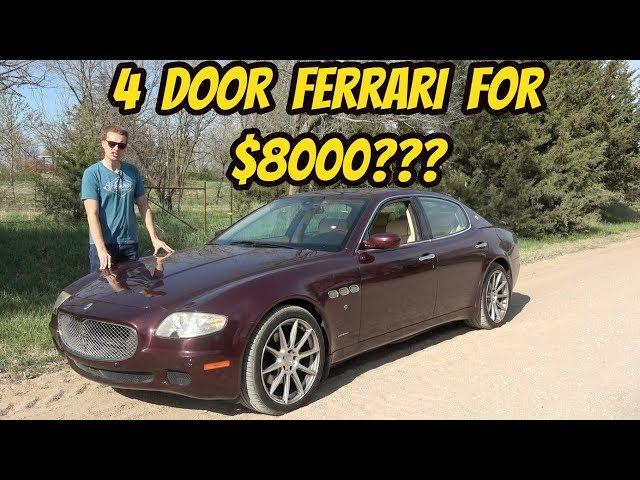 I Bought the Cheapest Maserati Quattroporte ZF In the USA