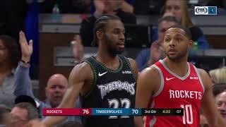Highlights: Timberwolves' comeback win over Rockets