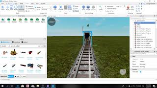 Roblox Tutorial 1 (How To Fix Ro Scale Track Connection and build your own ro scale game!)