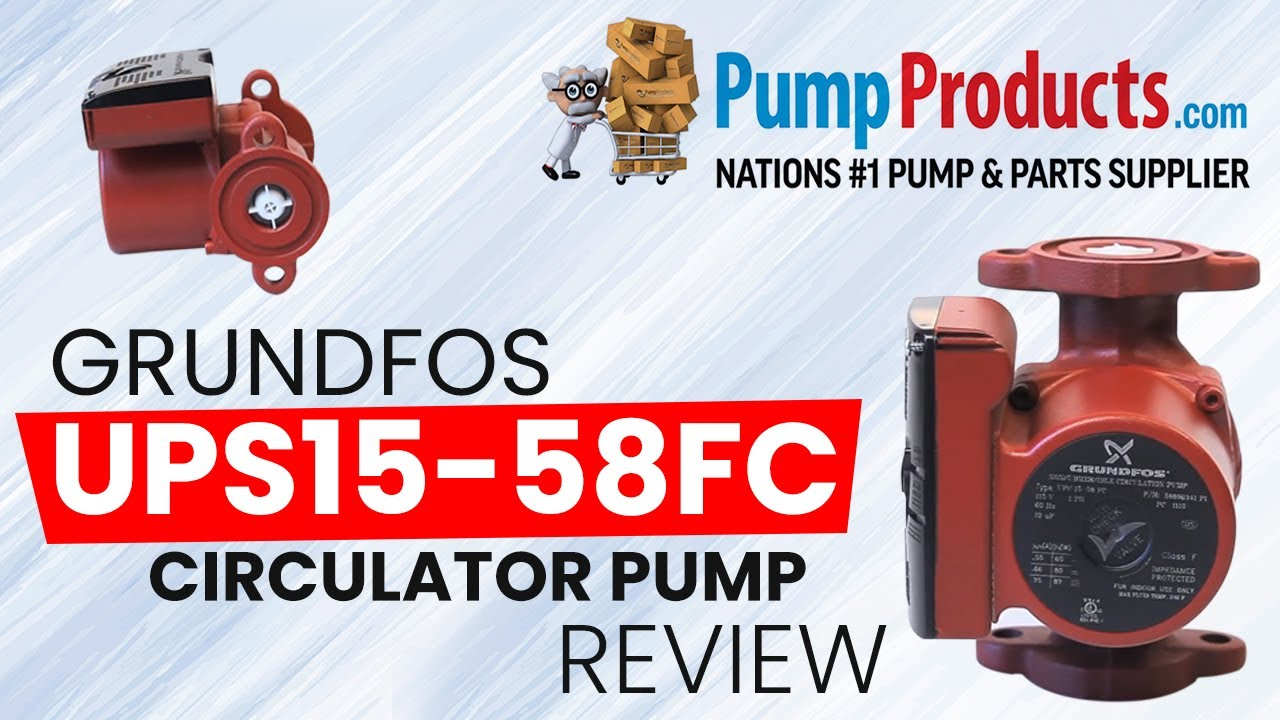 pump products grundfos ups15 58fc circulator pump review  [ 1280 x 720 Pixel ]
