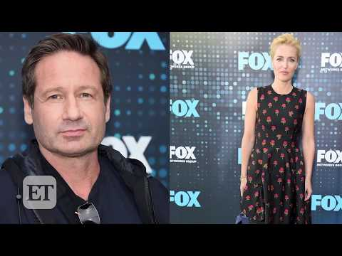 David Duchovny and Gillian Anderson Explain Their Matching Injuries Talk XFiles