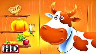 Веселая Ферма мульт Игра для Детей | Ухаживаем за Домашними Животными