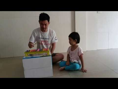 Happy birthday song by Nana with xylophone - Kid toy music