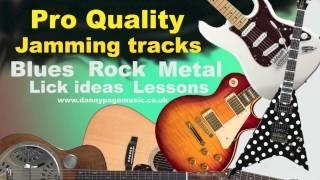 Pro Quality Em Metal Jam Track - Iron Maiden style British Metal